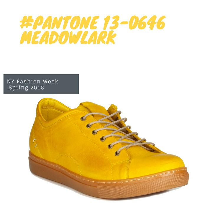 #PANTONE 13-0646 #Meadowlark The bold and lively Meadowlark a confident and outgoing bright #yellow shade highlights the #spring2018 season glistening with #joy and illuminating the world around us. #handemadeshoes #sneakers #miamistyle #miamigirls #miamishoes #miamibloggers #miamilife #miami #miaminights #shoesonline #meadowlark #miamishoes #miami #handemadeshoes #miamibloggers #yellow #pantone #miaminights #miamigirls #shoesonline #miamilife #joy #sneakers #miamistyle #spring2018