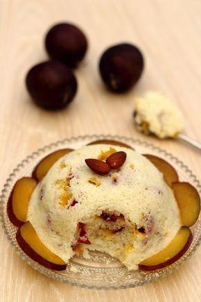 Bowlcake de semoule à la prune et amande - 5SP Weight Watchers