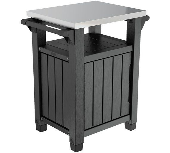 Keter Unity Bbq Table Bbq Table Garden Table Garden Furniture