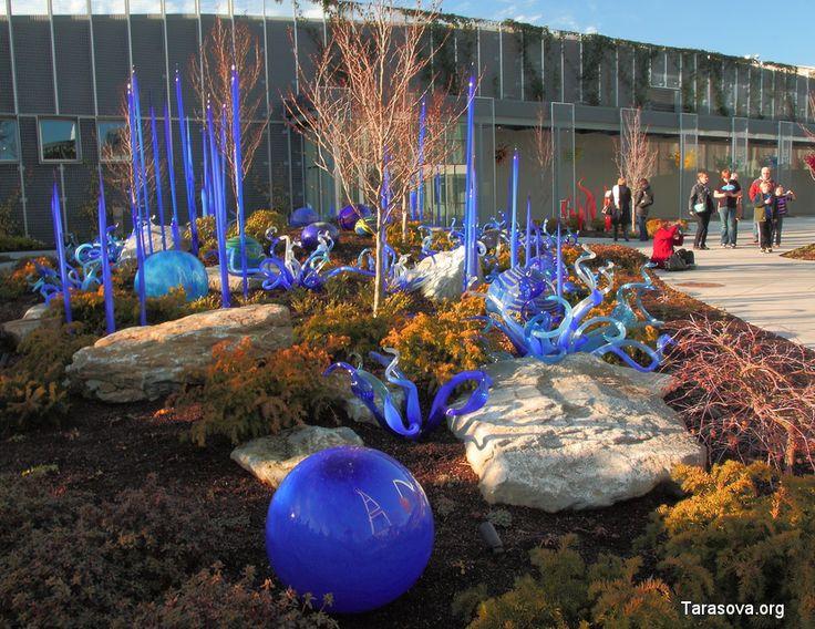 Стеклянный сад Чихули. Сиэтл. (Фото. Видео) Chihuly Garden and Glass in Seattle. | www.tarasova.org