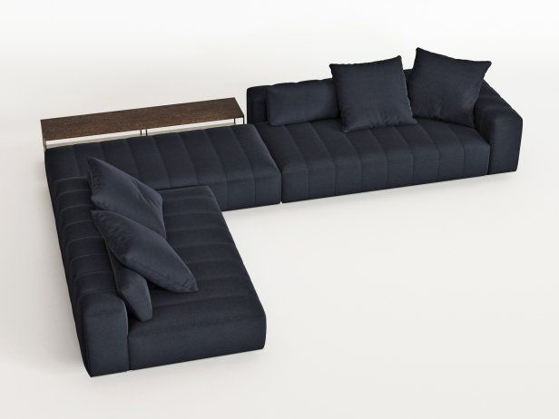 Freeman Corner Sofa System H 3d Model By Design Connected 2020 쇼파