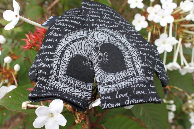 Arohanui Mitts 100% NZ Merino