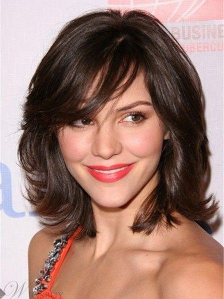 21 Easy Medium Length Hairstyles With Bangs For Women 2019 – Page 14 of 21 – HAIRSTYLE ZONE X