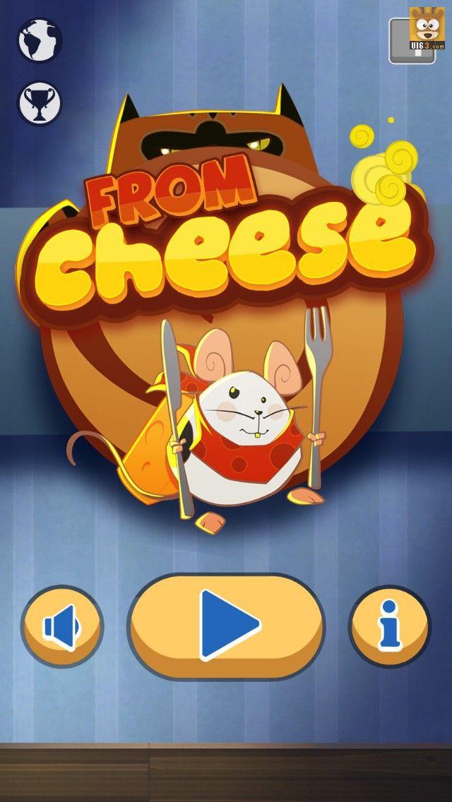手机游戏UI《From Cheese》U...