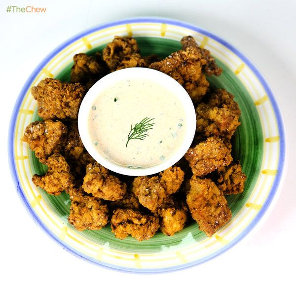 Chicken Fried Steak Nuggets by Clinton Kelly! #TheChew #ChickenFriedSteakNuggets