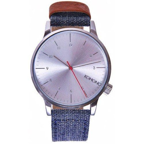 Komono Winston Heritage KOM-W2101, stříbrná, 2090 Kč | Slevy hodinek