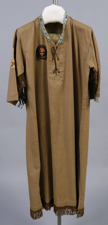Campfire Girl's Costume: Dress Artist/maker unknown, American