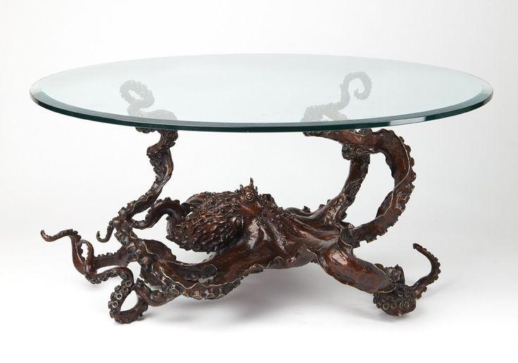 Kirk McGuire Bronze Sculpture - sculpture - tables