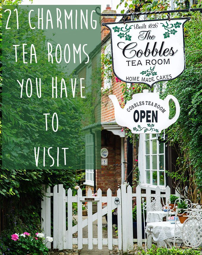 The Britophile Bucket List: Visit Every Tea Room in Britain #britophilebucketlist