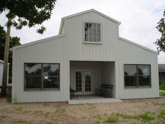 Gambrel steel buildings for sale ameribuilt steel for Gambrel roof metal building