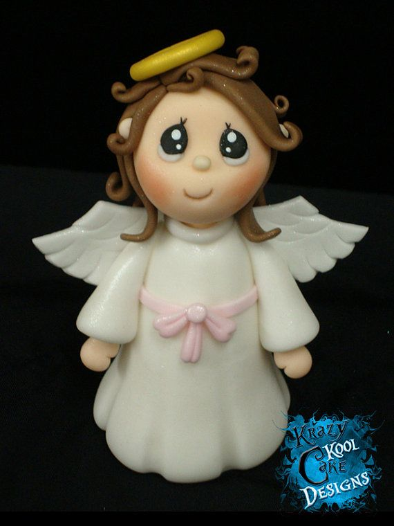 Angel Cake Topper.
