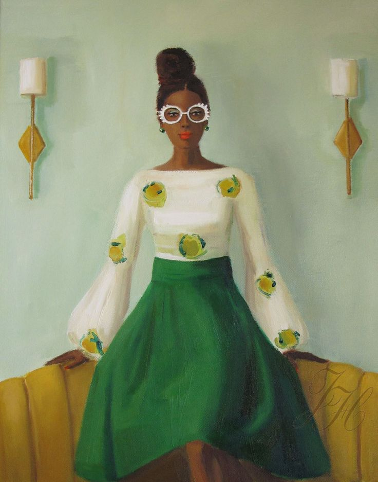 Puff Sleeves - Janet Hill-July 16, 2016