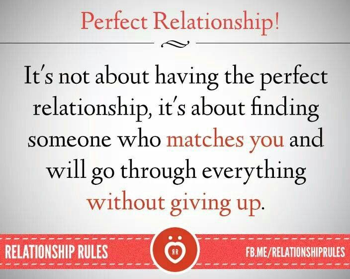 rules for a perfect relationship pictures