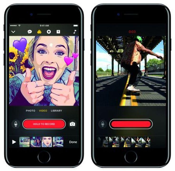 Clips la nouvelle app dApple pour avoir des photos et vidéos originales est disponible