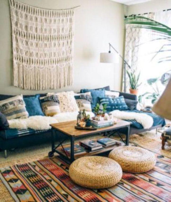 Cozy And Natural Small Apartment Decoration Ideas 31 Apartment Decor Minimalist Living Room Hippie Interior