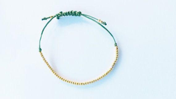 macrame tiny bracelet!