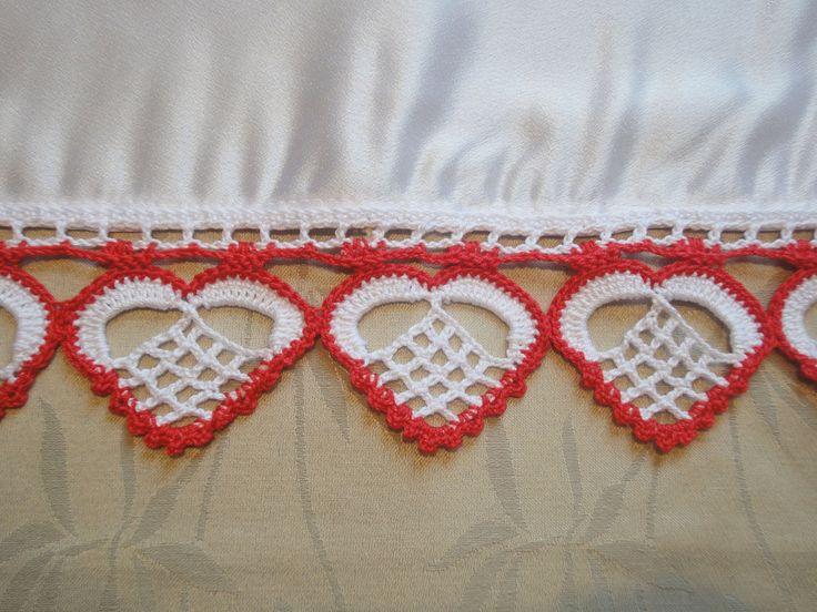СЕРДЦЕ Аппликация Вязание крючком HEART Crochet Applique http://youtu.be/FkHQbgT2Ycg