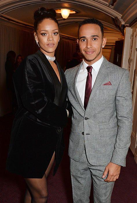 Lewis Hamilton finally addresses Rihanna dating rumours
