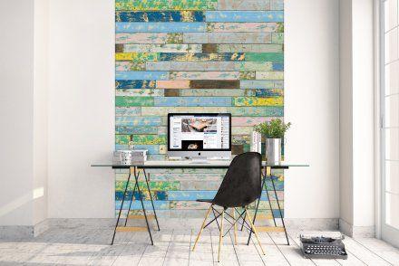 wall panels by SUN WOOD  #wallpanels #design #sunwood  Alte Holzbretter sind längst nicht mehr altmodisch, sondern sind immer öfter in modernen Privathäusern, Hotels, Bars und Cafés zu finden. Sun Wood erweitert die Designs der Altholzbretter um farbige Holzbretter und Bretter aus der Trend Kollektion.