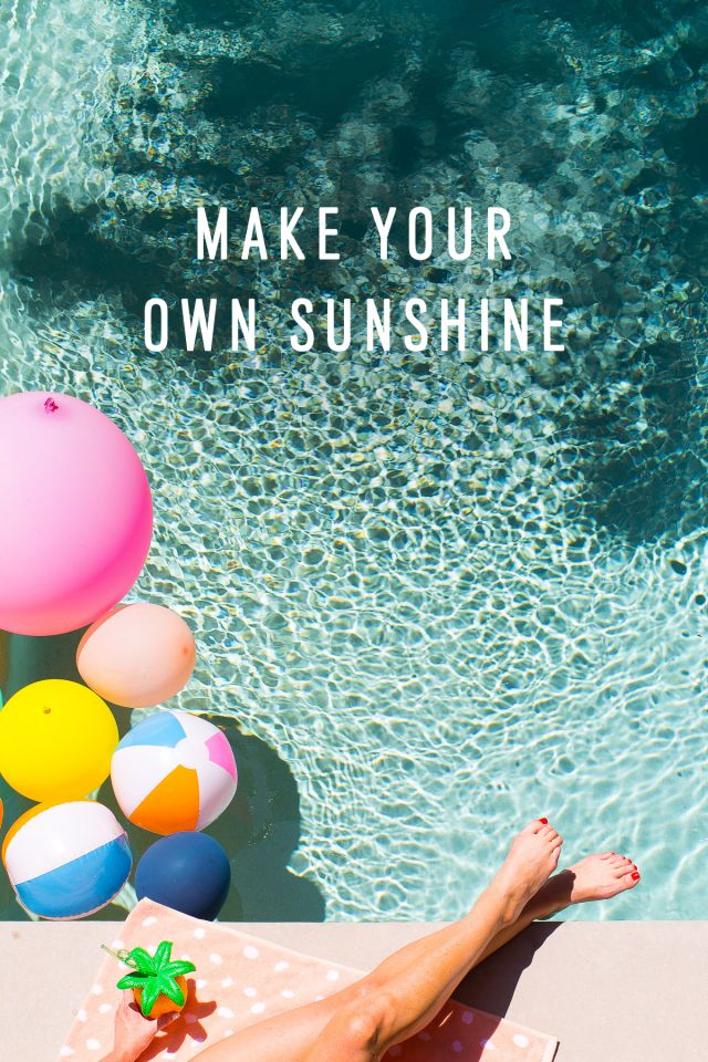 Poolside Cool: Our… Poolside Cool: Our Summer Playlist on Spotify & Summer Quotes | Sugar & Cloth