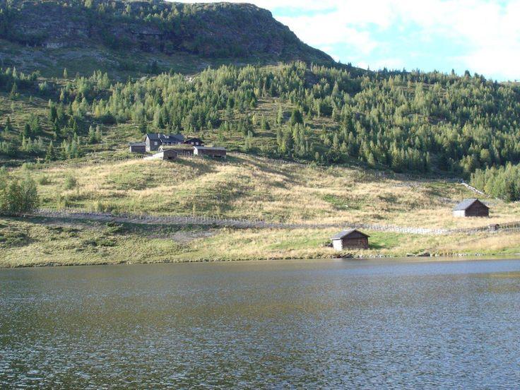 Solbråsetra, Gålå, Sør-Fron, Oppland. Brunostens opphavssted. Fredet i 2011.