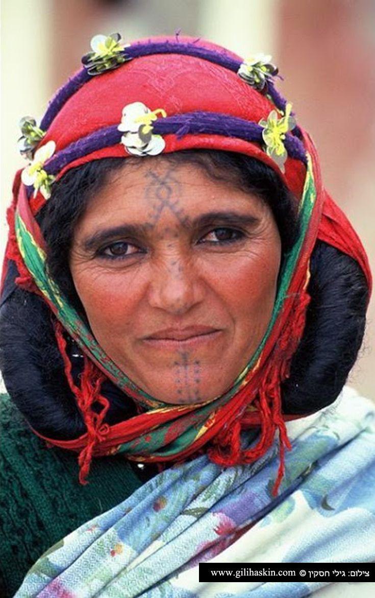 Africa | Berber woman.  Morocco | ©Gilad (Gili) Haskin