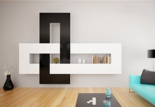 Brinn Modern Wall Unit / Entertainment Center / Many Price Winner Design / Contemporary Design Furniture / Modular Furniture