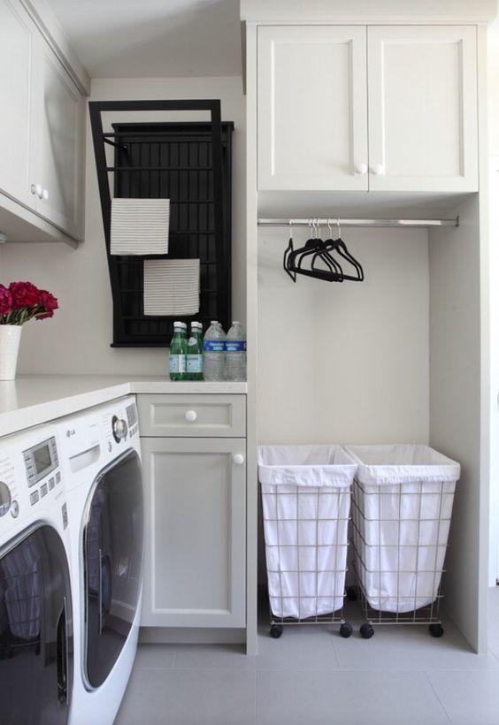 M s de 25 ideas incre bles sobre cuartos de lavado en for Lavadero empotrado