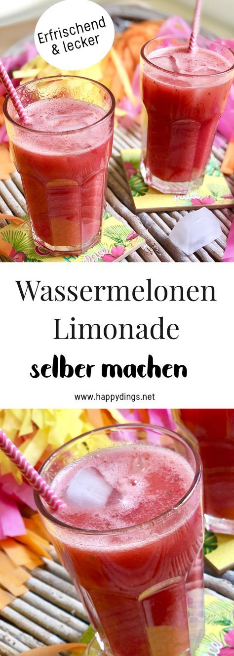 Schnelle und einfache Wassermelonen Rezepte für heiße Tage