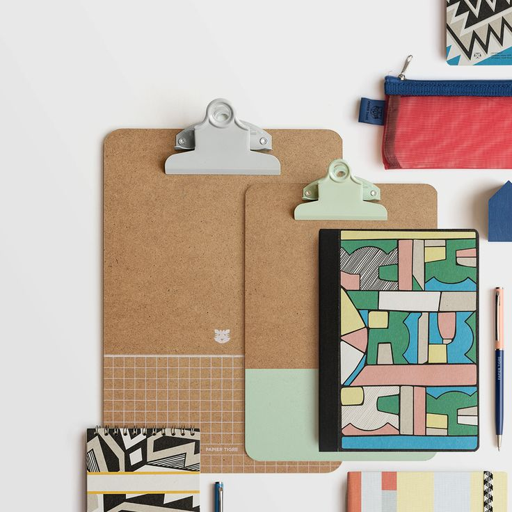 Complementary colours, designs and expert construction combine to make your daily routine more bright and beautiful in the new collection from Papier Tigre.