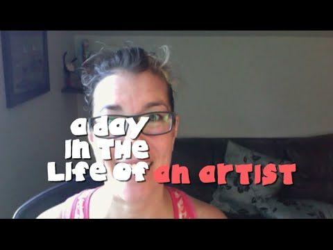 A Day in the Life of an Artist-Tara Audibert