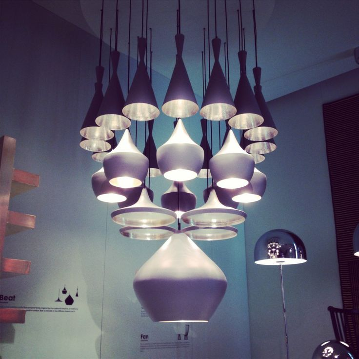 Salone - New Tom Dixon Beat Lights
