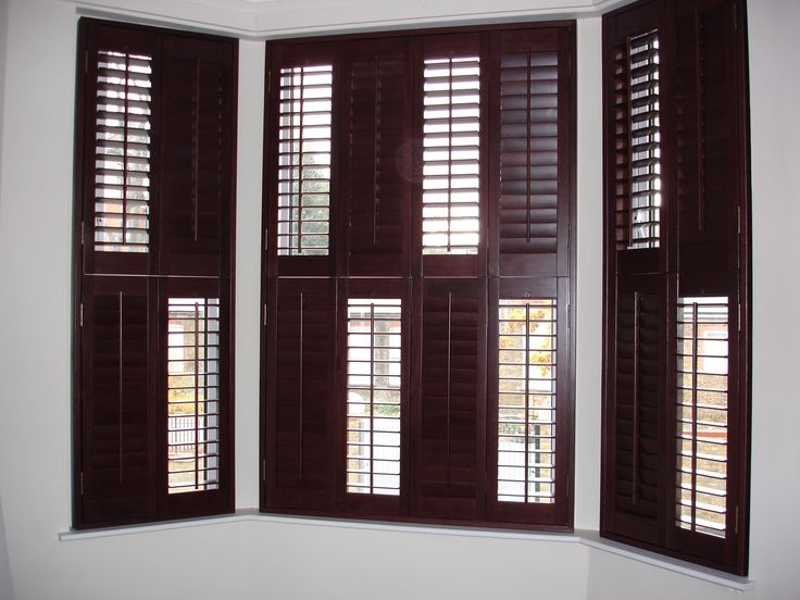 Open and closed #shutters