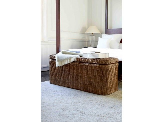 This beautiful hand crafted Low Rattan Chest has plenty of space for out of season clothing or bedding so makes an ideal #bedroom #storage solution. Designed for the foot of the bed but also looks fantastic in the #hallway or #livingroom as a table.