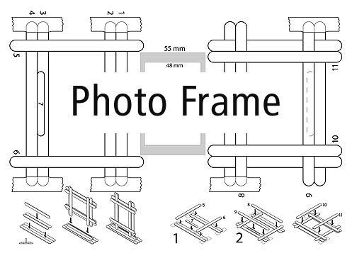* Elective 4 - download a pdf showing how to make a standing photo-frame