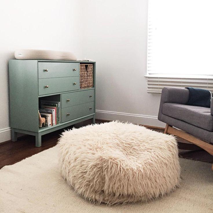 Painted IKEA Nornas dresser