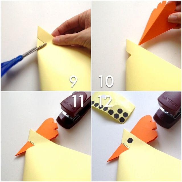 Wie man für Ostern einen witzigen Hühnerkorb basteln kann, seht ihr heute bei schaeresteipapier . Das Huhn hat Platz für 2-4 Eier und...