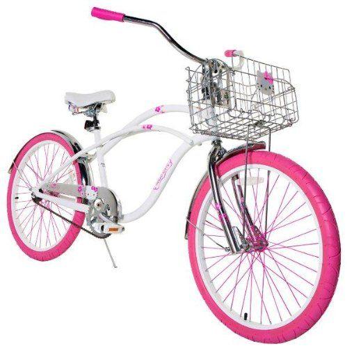 Hello Kitty Women's Cruiser Bike with 16-Inch Frame, White, 24-Inch Hello Kitty http://www.amazon.com/dp/B00E1XWB2C/ref=cm_sw_r_pi_dp_K0sgub06GNZGM