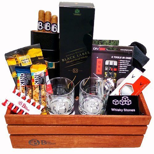 Golfers Delight Gift Basket for Golfers