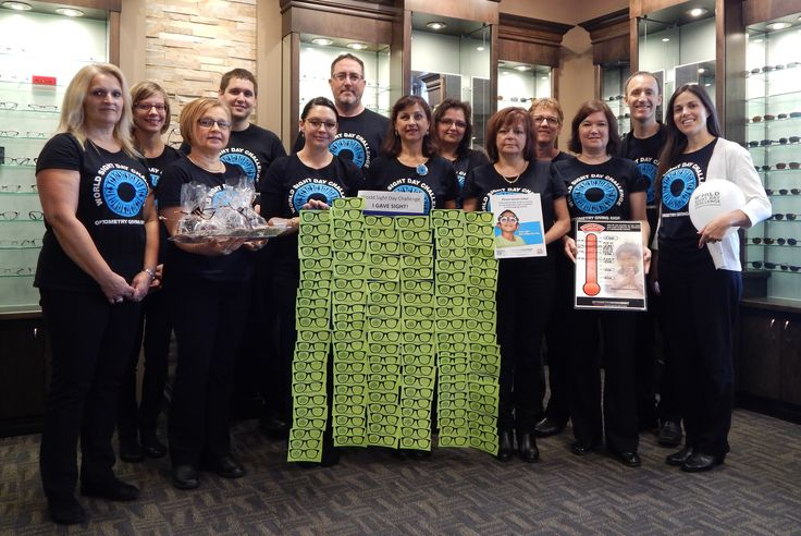 A very special Thank You to all of our patients who made a donation in October to Optometry Giving Sight. Together, we raised over $1,875!