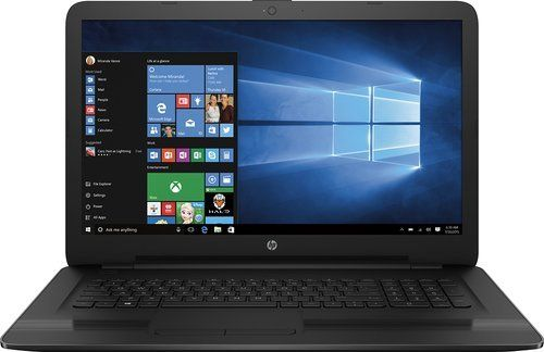 2017 Newest HP  17.3 Laptop  Intel Core i5-7200U (3M Cache up to 3.10 GHz)  4GB Memory  1TB Hard Drive  Textured linear gradient grooves in black