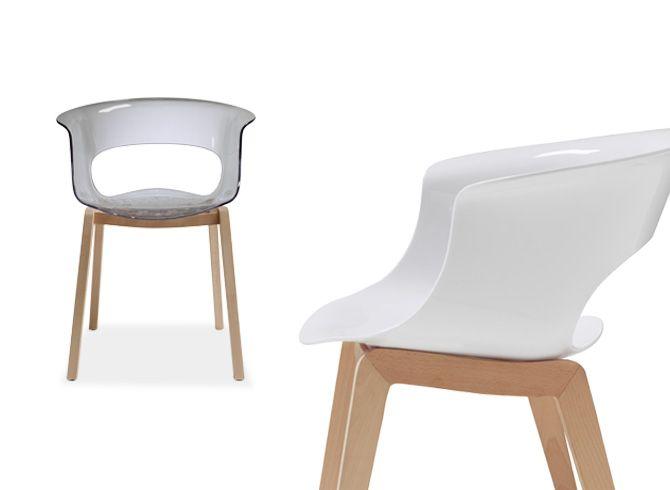 Miss B Chair Natural - Scab Design