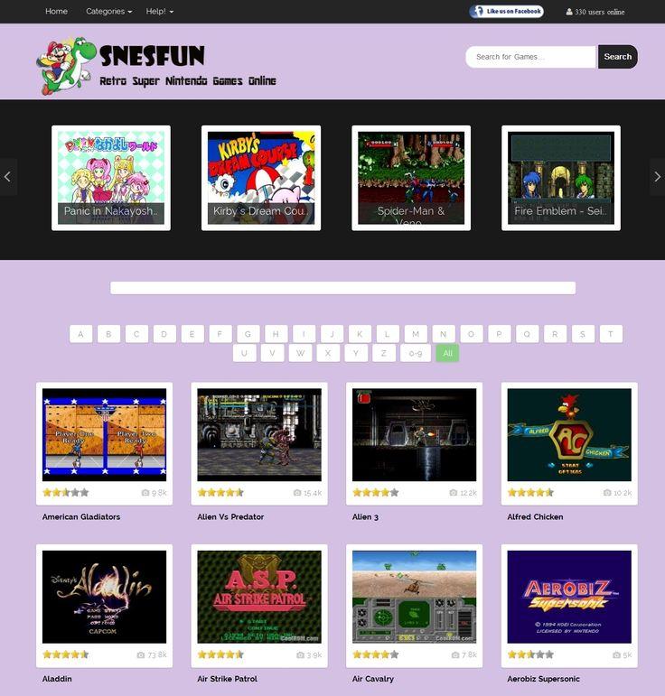 Snesfun : play retro games online