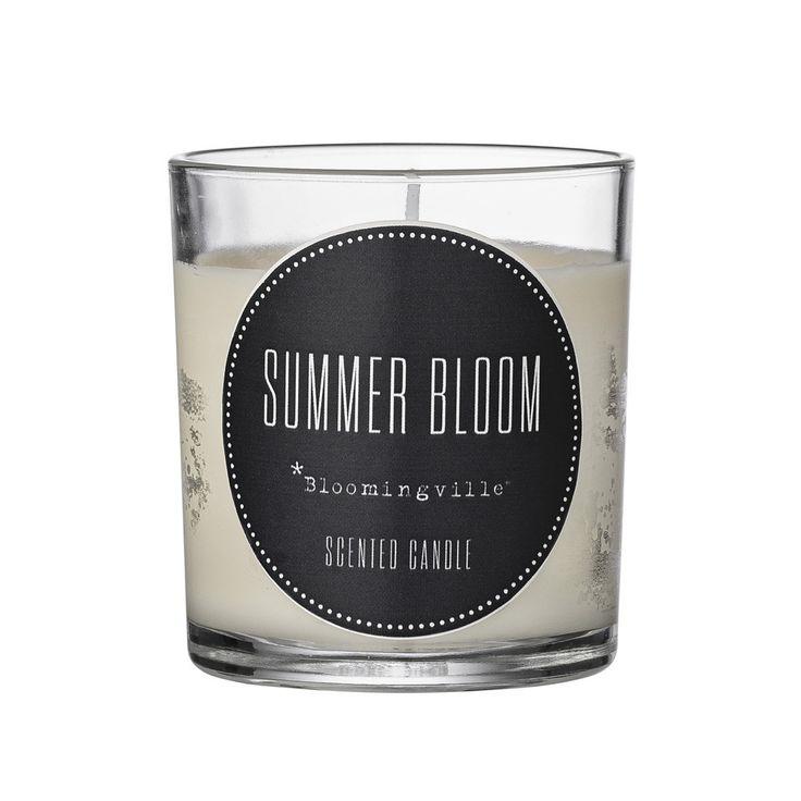 Bloomingville  Summer Bloom Candle  $14.95AUD www.granitelane.com.au