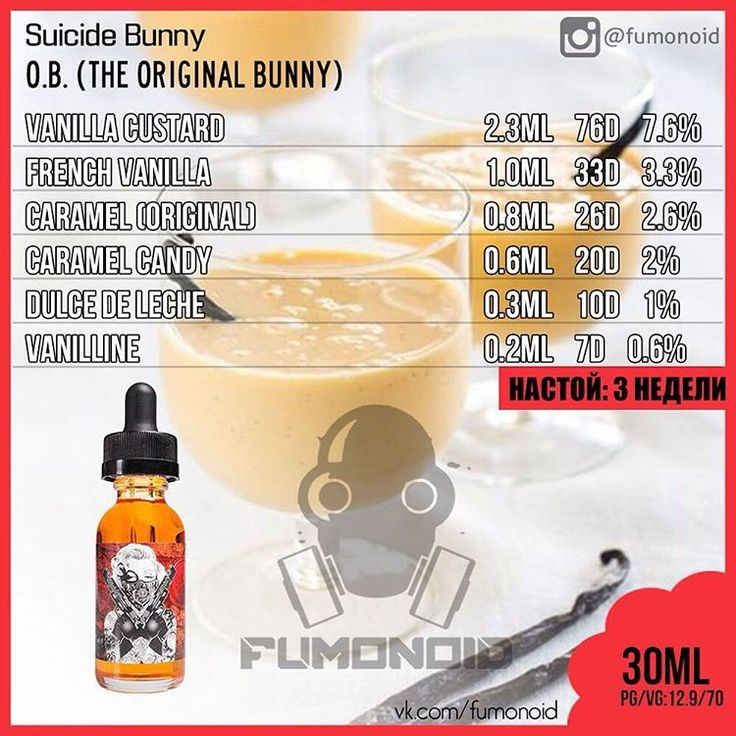 39 best clone ejuice recipe recette diy clone images on pinterest suicide bunny ob e liquid recipe arom team vape diyvape solutioingenieria Images