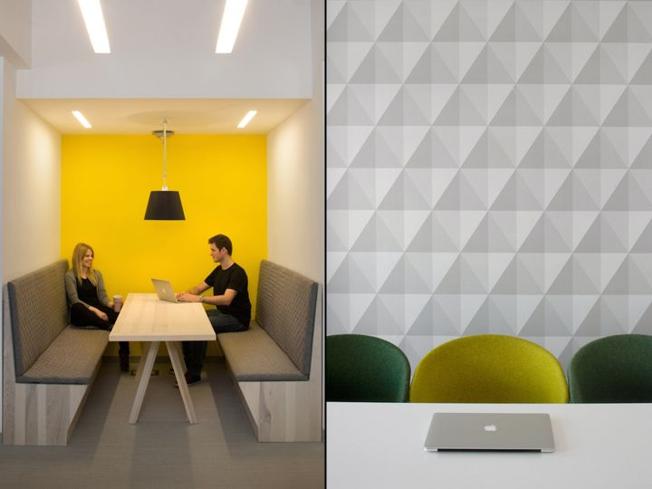 Волнующий дизайн интерьера современного офиса u2i: нестандартные решения для творческого пространства. Проект от Morpho Studio, Краков, Польша