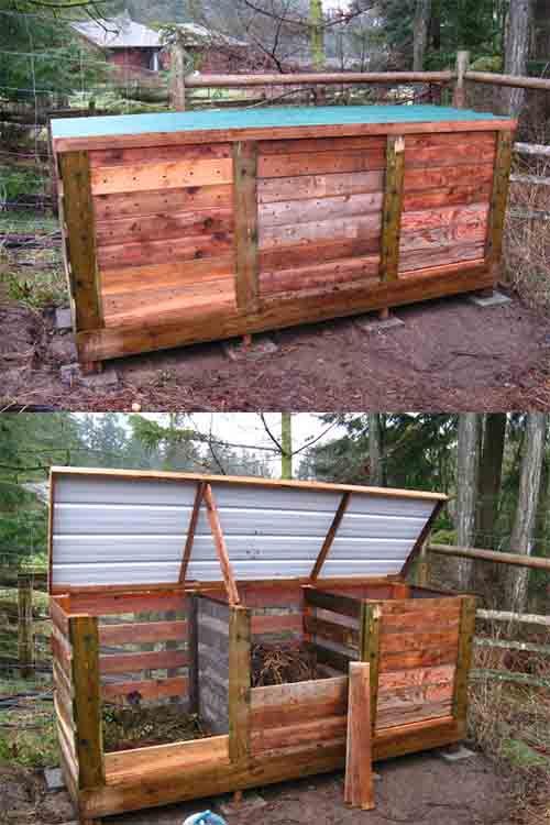 31 best images about DIY Compost Bin Ideas on Pinterest | Gardens ...