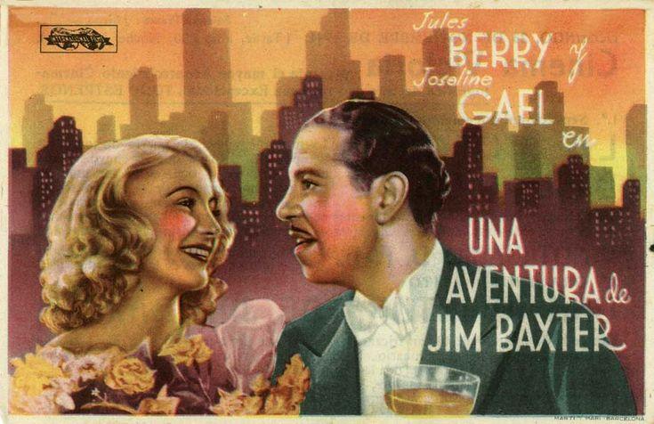 """Una aventura de Jim Baxter (1939) """"Son oncle de Normandie"""" de Jean Dréville - tt0030769"""