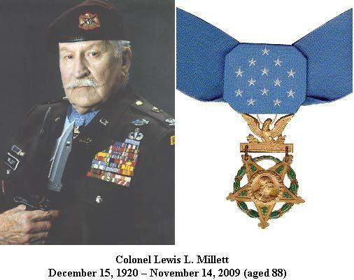 Col David Hackworth Medals   ... who served in WWII, Korea ...