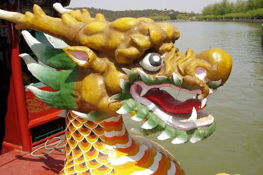 Plus original : un dragon : Figures de proue - Linternaute.com Mer et Voile